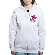 PuzzlesPuzzle (Pink) Zip Hoodie