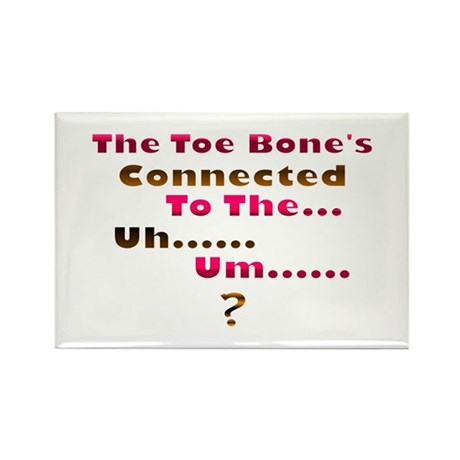 Toe Bone Rectangle Magnet (100 pack)