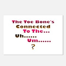 Toe Bone Postcards (Package of 8)