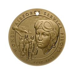WASP Congressional Gold Medal--obverse