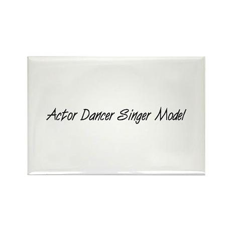 Actor Dancer Singer Model Rectangle Magnet (100 pa