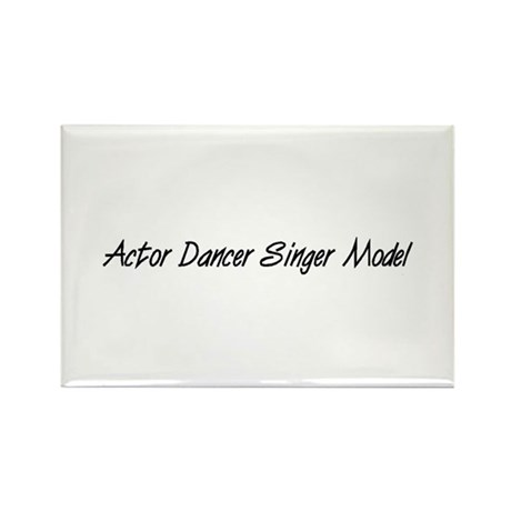 Actor Dancer Singer Model Rectangle Magnet (10 pac