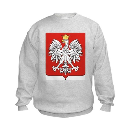 Poland Coat of Arms / Polish Kids Sweatshirt