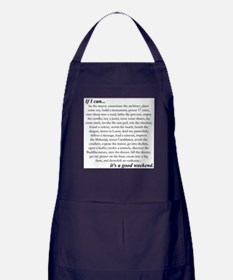 Funny Board games Apron (dark)
