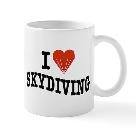 I Love Skydiving Mug