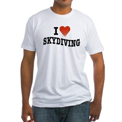 I Love Skydiving Shirt