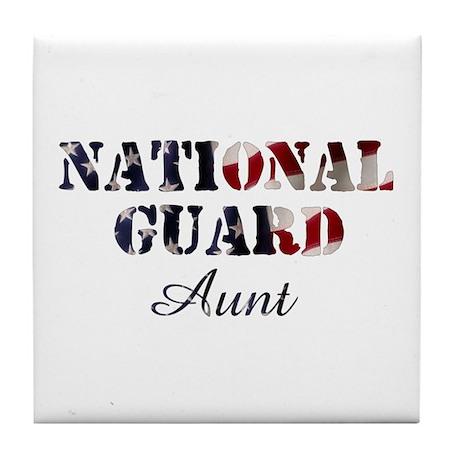 NG Aunt Flag Tile Coaster