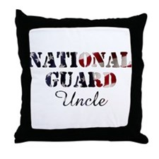 NG Uncle Flag Throw Pillow
