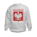 Polska Shield / Poland Shield Kids Sweatshirt