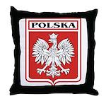 Polska Shield / Poland Shield Throw Pillow