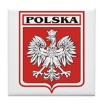 Polska Shield / Poland Shield Tile Coaster