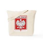 Polska Shield / Poland Shield Tote Bag