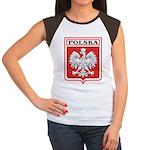 Polska Shield / Poland Shield Women's Cap Sleeve T