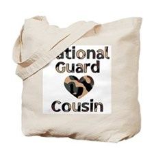 NG Cousin Heart Camo Tote Bag