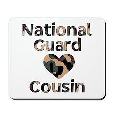 NG Cousin Heart Camo Mousepad