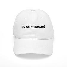 Recalculating Baseball Cap
