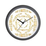 """SERIES G: """"Your 15 Minutes of Fame"""" W. Clock"""