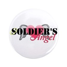 """Soldiers Angel 3.5"""" Button"""