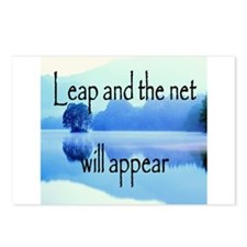 Leap and the net will appear Postcards (Package of