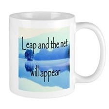 Leap and the net will appear Mug