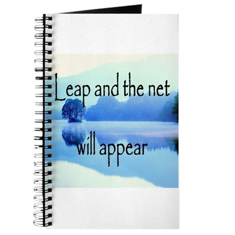 Leap and the net will appear Journal