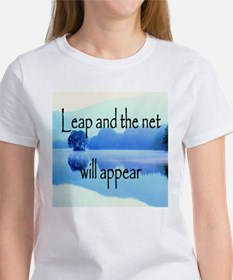 Leap and the net will appear Women's T-Shirt