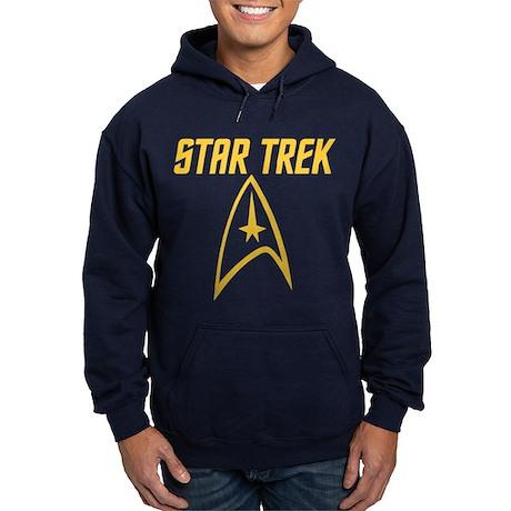 Vintage Star Trek Hoodie (dark)