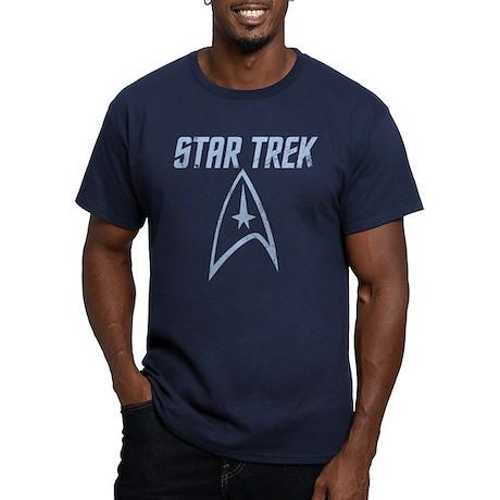 Vintage Star Trek Men's Fitted T-Shirt (dark)