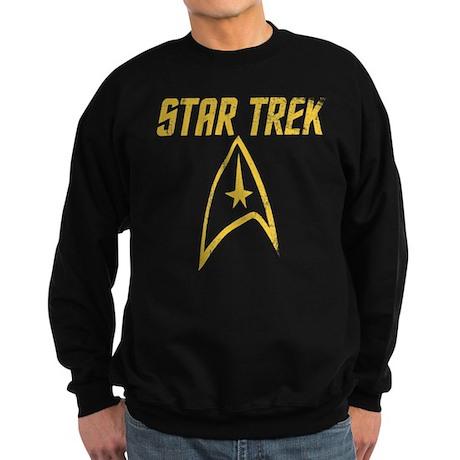 Vintage Star Trek Sweatshirt (dark)