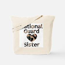 NG Sister Heart Camo Tote Bag