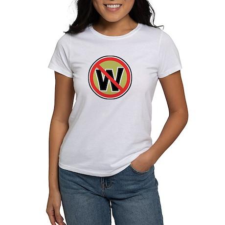 Classic No Dubya Women's T-Shirt