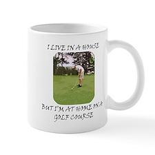 I Live in a House Mug