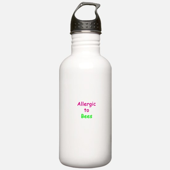 Allergic To Bees Water Bottle