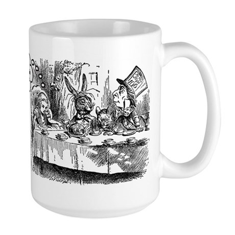 Mad Tea Party Large Mug
