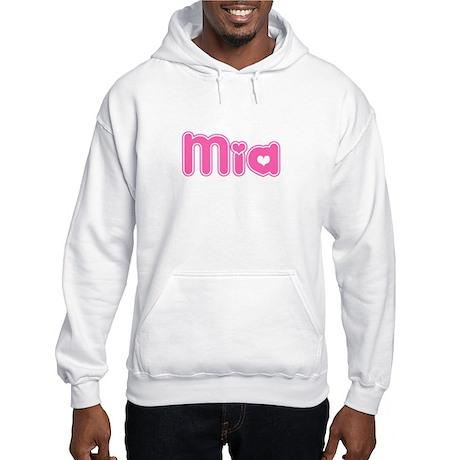 """Mia"" Hooded Sweatshirt"