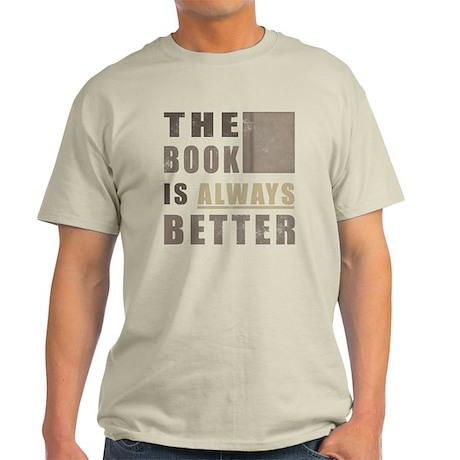 Book Humor Light T-Shirt