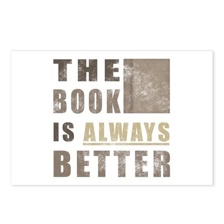 Book Humor Postcards (Package of 8)