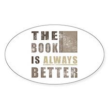 Book Humor Decal