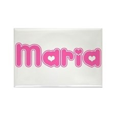 """Maria"" Rectangle Magnet"