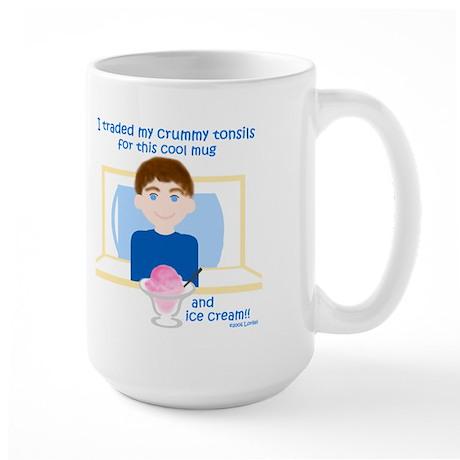 I Traded My Tonsils for... Large Mug