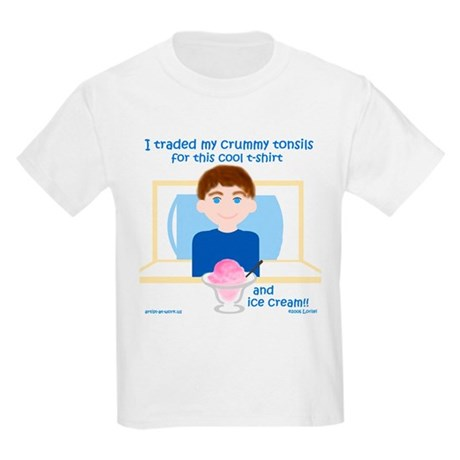 I Traded My Tonsils for... Kids T-Shirt