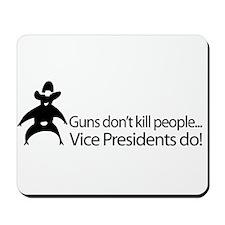 Guns Don't Kill People - Chen Mousepad
