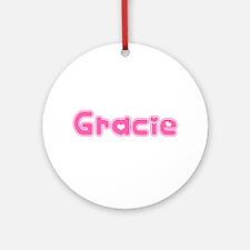 """Gracie"" Ornament (Round)"