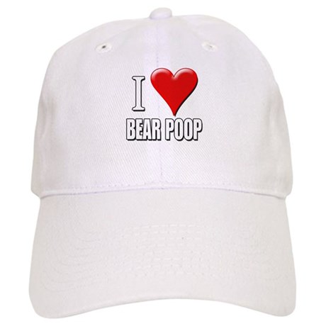 I Love (Heart) Bear Poop Cap