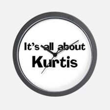 It's all about Kurtis Wall Clock