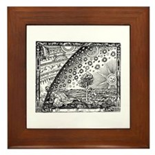 Flammarion Woodcut Framed Tile