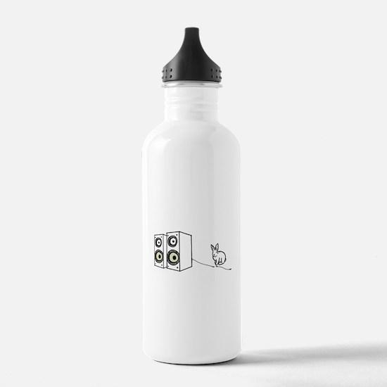 speaker bunny Sports Water Bottle