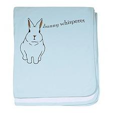 bunny whisperer Infant Blanket
