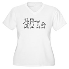 2 bunnies family T-Shirt