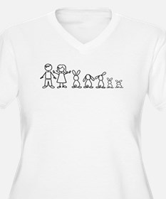 5 bunnies family T-Shirt